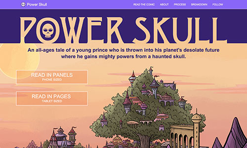 image link to the Power Skull page